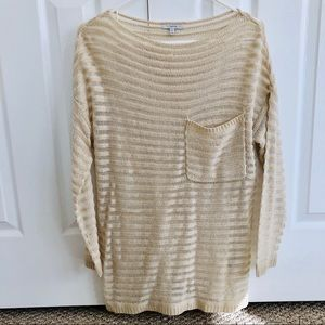 Anthropologie Mystree Loose Knit Sweater Sz M/L